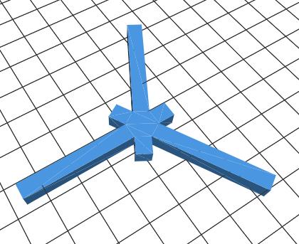 Le modèle STL pour la calibration