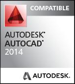 Compatible avec AutoCAD 2014