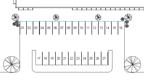 Numérotation de places de parking