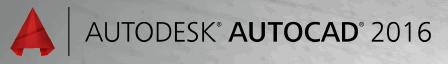 Ecran de démarrage d'AutoCAD 2016