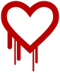 Le logo Heartbleed