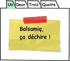 Exemple onglets avec Balsamiq