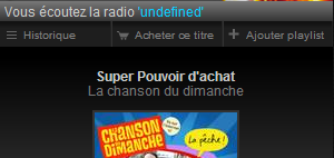 Radio undefined, la radio la plus cool de Deezer